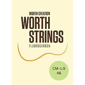【Worth】 CM-LG クリア フロロカーボン弦 セット (Low-G ウクレレ用)