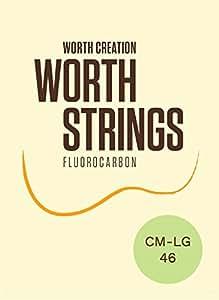 Worth ( ワース弦 ) CM-LG フロロカーボン弦Low-Gセット ソプラノ/コンサート ( ウクレレ弦 クリア ミディアム  Low-G ロウジー )