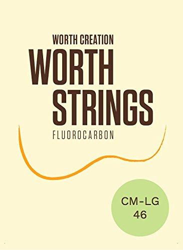 Worth   ワース弦   CM-LG フロロカーボン弦Low-G ソプラノ/コンサート   ウクレレ弦 クリア ミディアム  Low-G ロウジー