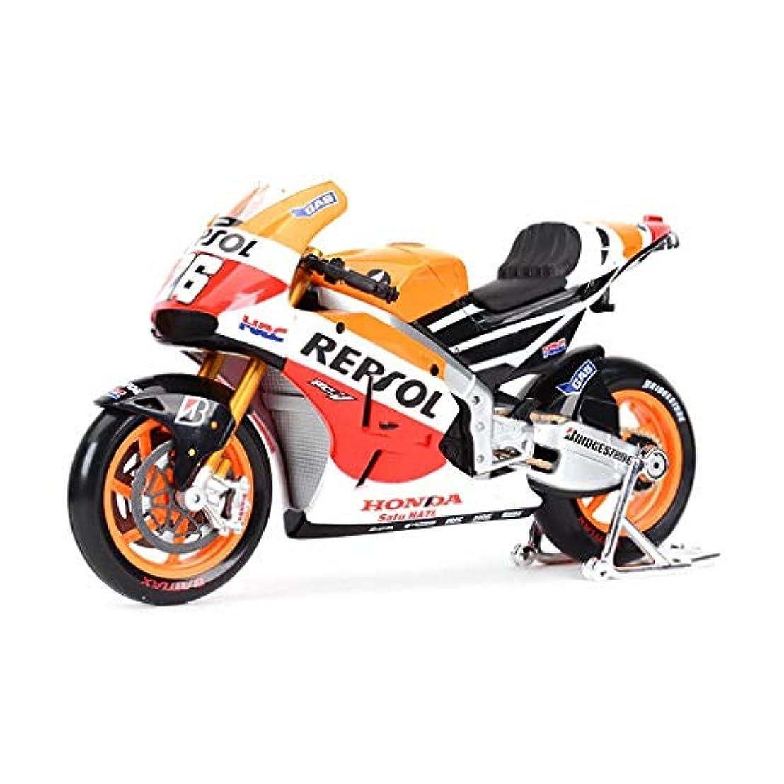 ブロックするシャーロットブロンテ損失JIANPINGオートバイのおもちゃモデル2014ホンダ26号路面機関車シミュレーション合金オートバイモデルコレクションギフトモデルカー