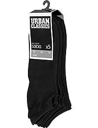 アーバン Classics - NO SHOW ショート 靴下 5-pack ブラック
