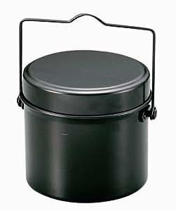 キャプテンスタッグ バーベキュー BBQ用 炊飯器 林間丸型ハンゴー 4合炊きM-5546