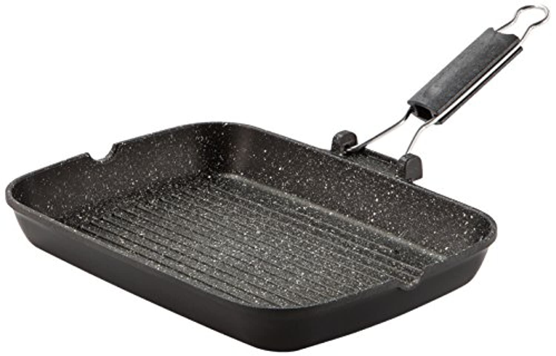 Barazzoni グリルパン ブラック 35×25×H4.5cm グリル/ステーキパン LE COTTURE 83105403525
