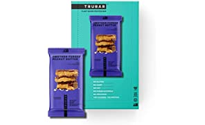 TRUWOMEN Plant Fueled Protein Bars Smother Fudger Peanut Butter 12 Pack