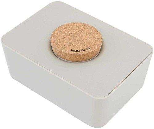 ウエットティッシュホルダー コルク&シリコン 単品 ウォームグレー, コルク蓋-単品 | ティッシュケース おしりふき ふた ウェットティッシュ ケース ティッシュ ウェットティッシュケース キッチンペーパーホルダー おしりふき おしりふきケース けーす 蓋 おしゃれ