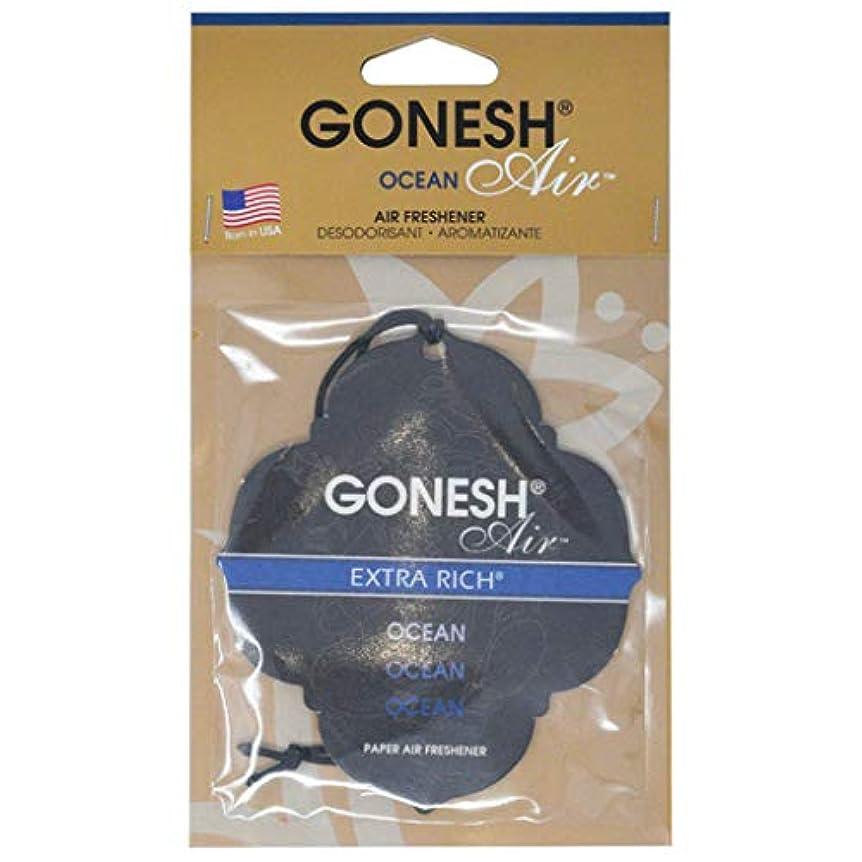 露一次彼女GONESH(ガーネッシュ) GONESHペ-パ-エアフレッシュナ- OCEAN 96mm×3mm×170mm