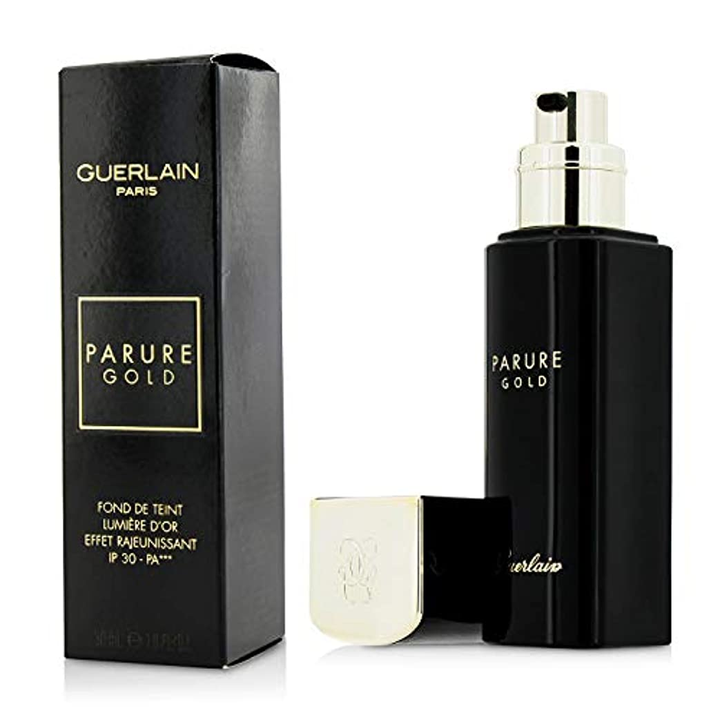 すり半円行政ゲラン Parure Gold Rejuvenating Gold Radiance Foundation SPF 30 - # 31 Ambre Pale 30ml/1oz並行輸入品