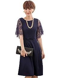 811995ba0f916 Amazon.co.jp  ネイビー - ワンピース・ドレス   レディース  服 ...