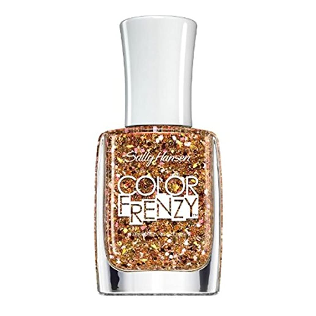 市民権なめらか重力SALLY HANSEN Color Frenzy Textured Nail Color Splattered (並行輸入品)