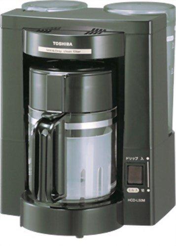TOSHIBA『ミル付きコーヒーメーカー HCD-L50M』