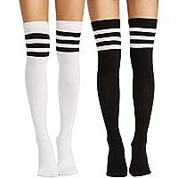 Women Thigh High Over knee Socks Boot Stocking Leg Warmer