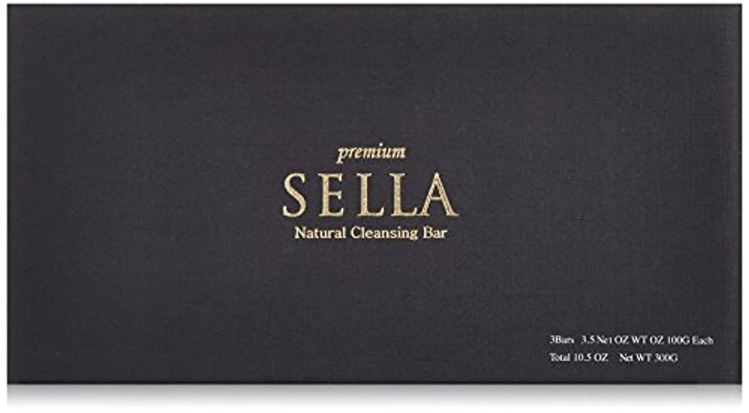 危険な賭けダーリンSELLA(セラ) プレミアム nanoクレンジングバー 3個SET