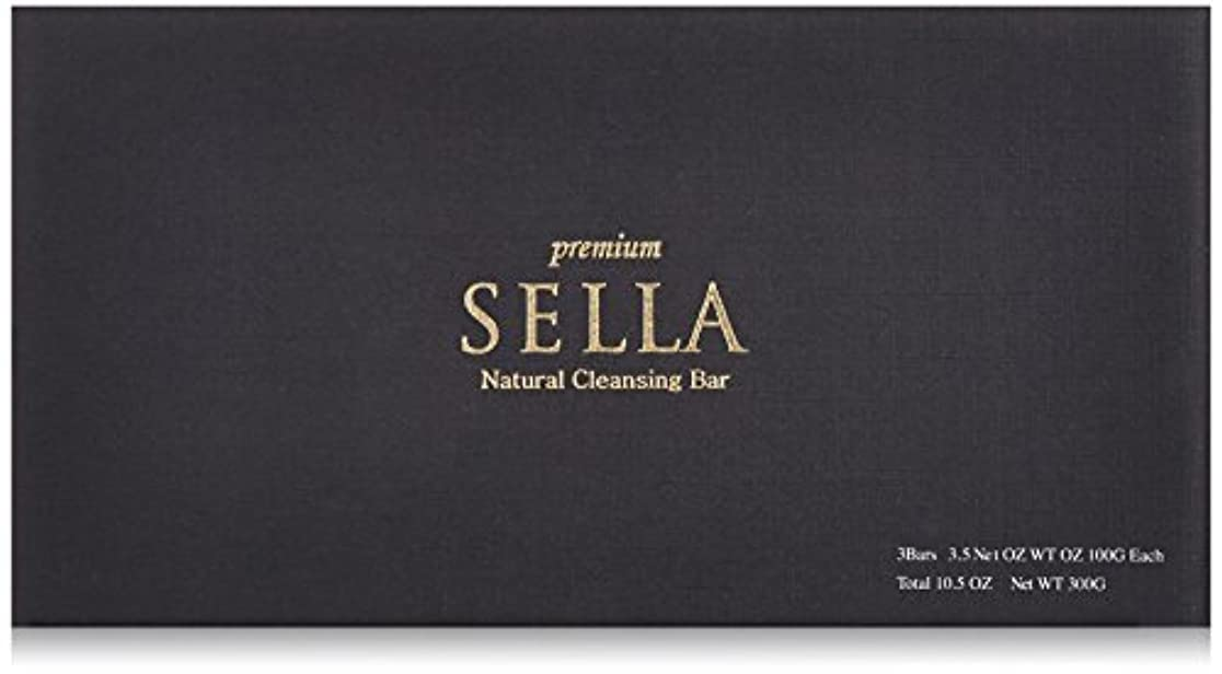 ギャンブル文化全員SELLA(セラ) プレミアム nanoクレンジングバー 3個SET