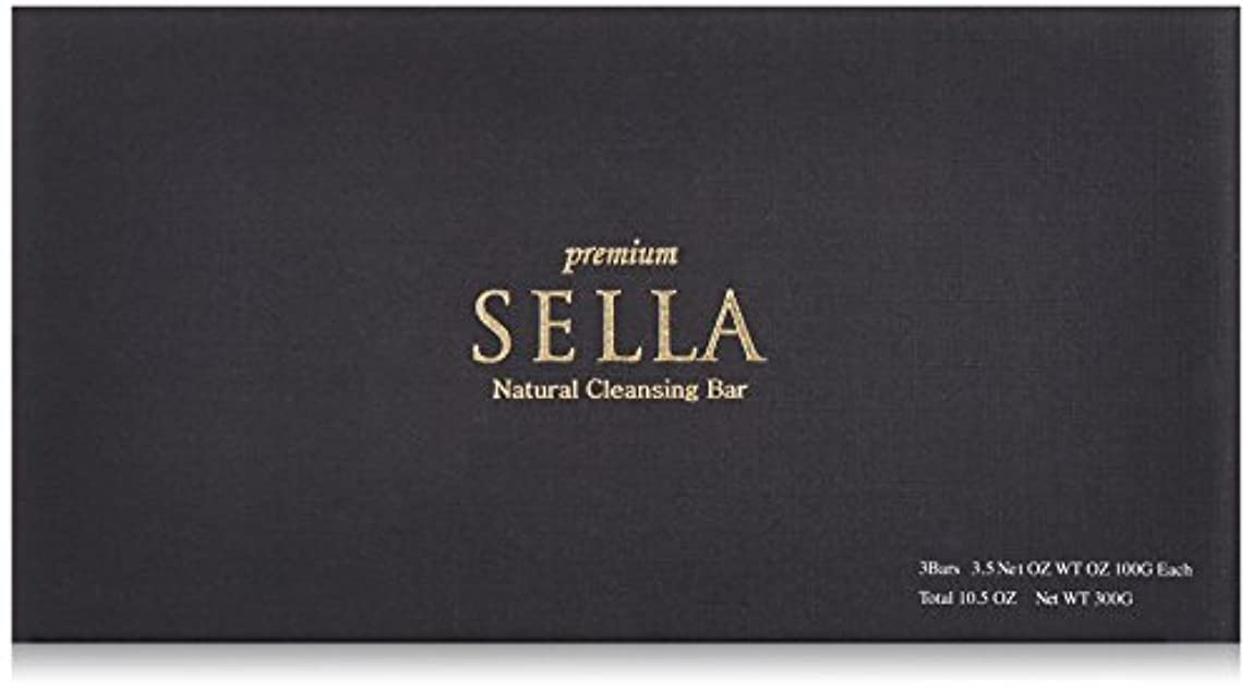 ランデブーカウンターパートフロントSELLA(セラ) プレミアム nanoクレンジングバー 3個SET
