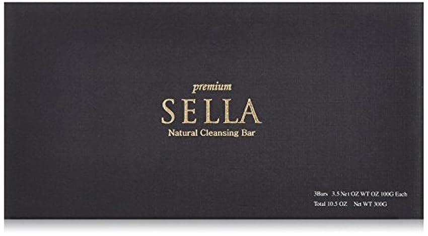 SELLA(セラ) プレミアム nanoクレンジングバー 3個SET