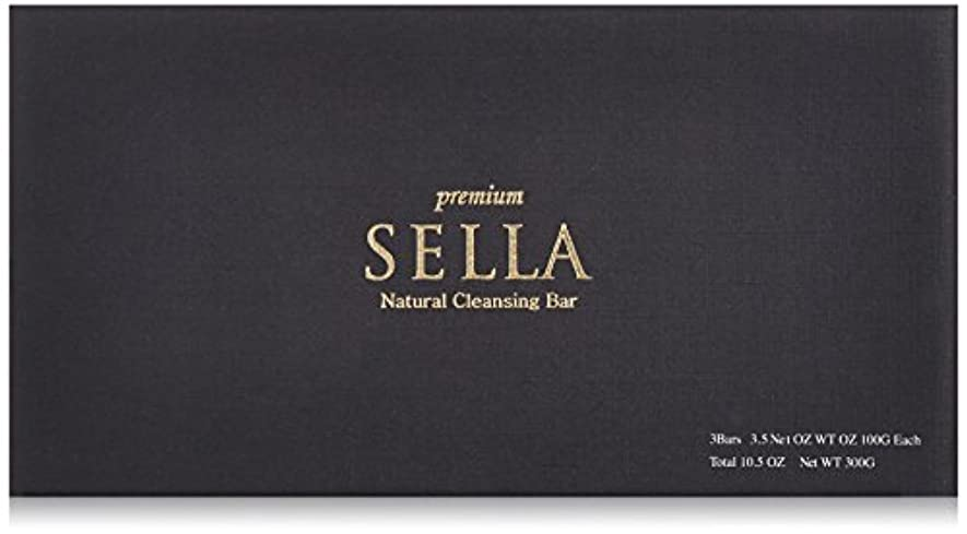 ぶら下がる機密助言SELLA(セラ) プレミアム nanoクレンジングバー 3個SET