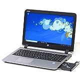 中古パソコン ノートパソコン 新品SSD HP ProBook 450 G3 Core i5 6200U 2.3GHz 8GB Windows10 Office搭載 15インチ Bluetooth 無線LAN