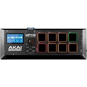 Akai Professional サンプラー 8パッド SDカードスロット MPX8