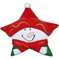 Oldeagle クリスマス 雪だるま 星 ギフト ゆっくり元に戻る圧力スクイーズ ストレス解消おもちゃ 子供と大人用