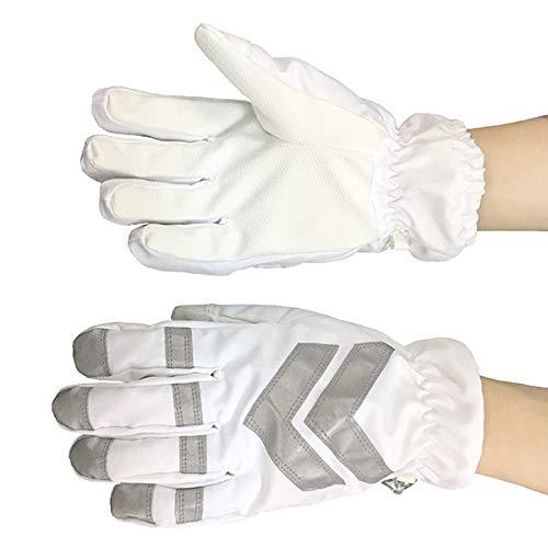 d45d9874e0176 富士手袋工業 高視認防水防寒手袋 白 LLサイズ 74-15