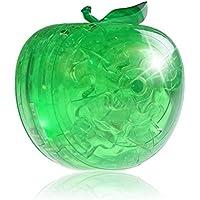 firero 2018新しいホット3dクリスタルパズルキュートフルーツモデルDIYガジェットブロックBuilding Toyギフト One Size グリーン UL-2308