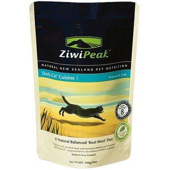 ZiwiPeak(ジウィピーク) デイリーキャットクィジーン パウチ -ベニソン&フィッシュ 400g