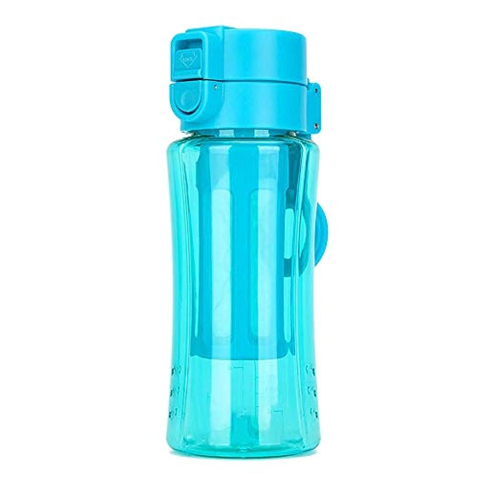 メトリック他に監督するスポーツボトルウォーターカップ直飲み400mlストロー型環境保護屋外旅行