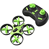 Mini Quadcopter Drone, EACHINE E010 2.4GHz 6-Axis Gyro Remote Control Best Nano Quadcopter Drone Boys Girls - Headless Mode, 3D Flip, One Key Return