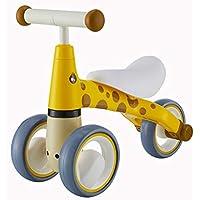 YXXHM- Walker 子供用 スクーター ヨー 車 1-3歳 赤ちゃんのおもちゃ 座ってスライドする可動式 手と目の協調 親子通信 405027.5CM イエロー 71569380