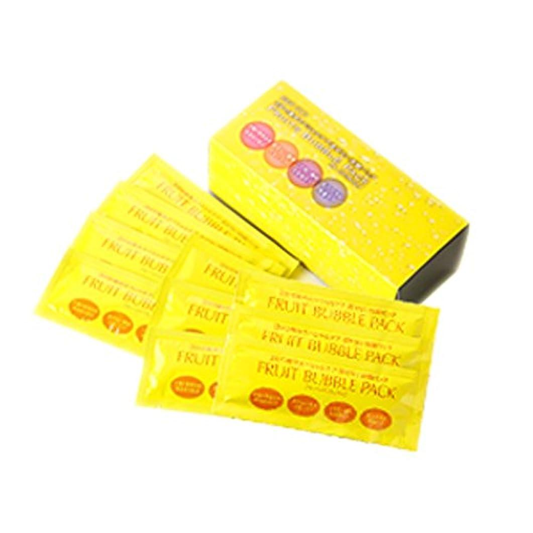 コミットフィドル複雑フルーツ泡パック 1箱10袋