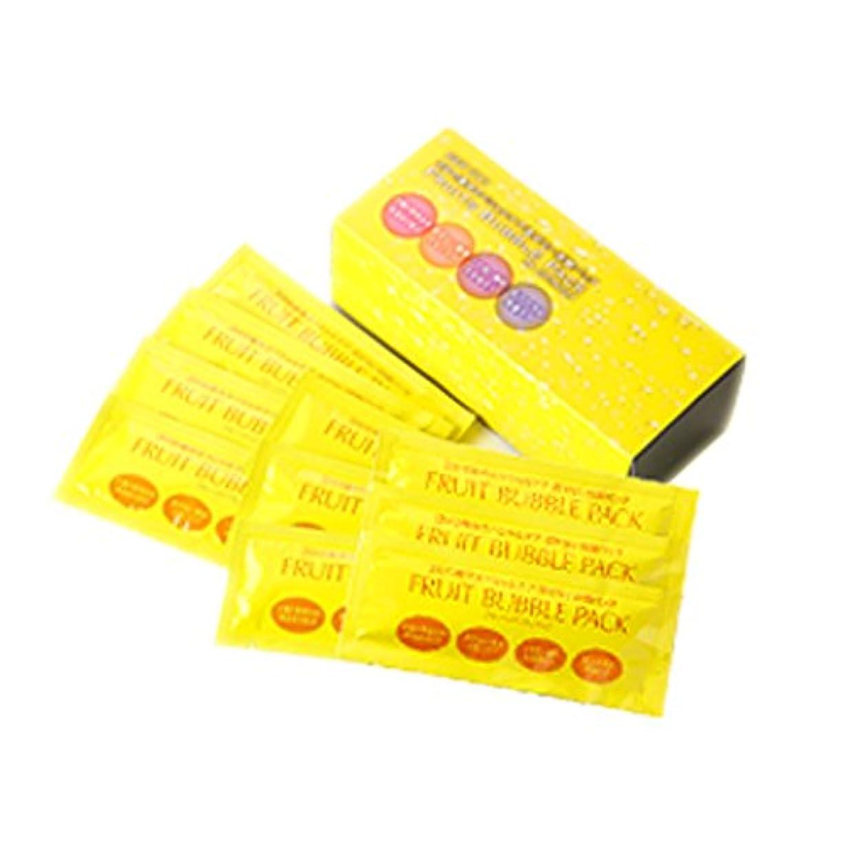 優越実験室解釈するフルーツ泡パック 1箱10袋