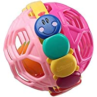 ychoice Lovely赤ちゃんおもちゃギフトベビーAdorableプラスチック手Rattles Bell KidsベビーFunnnyクロールおもちゃボールギフト