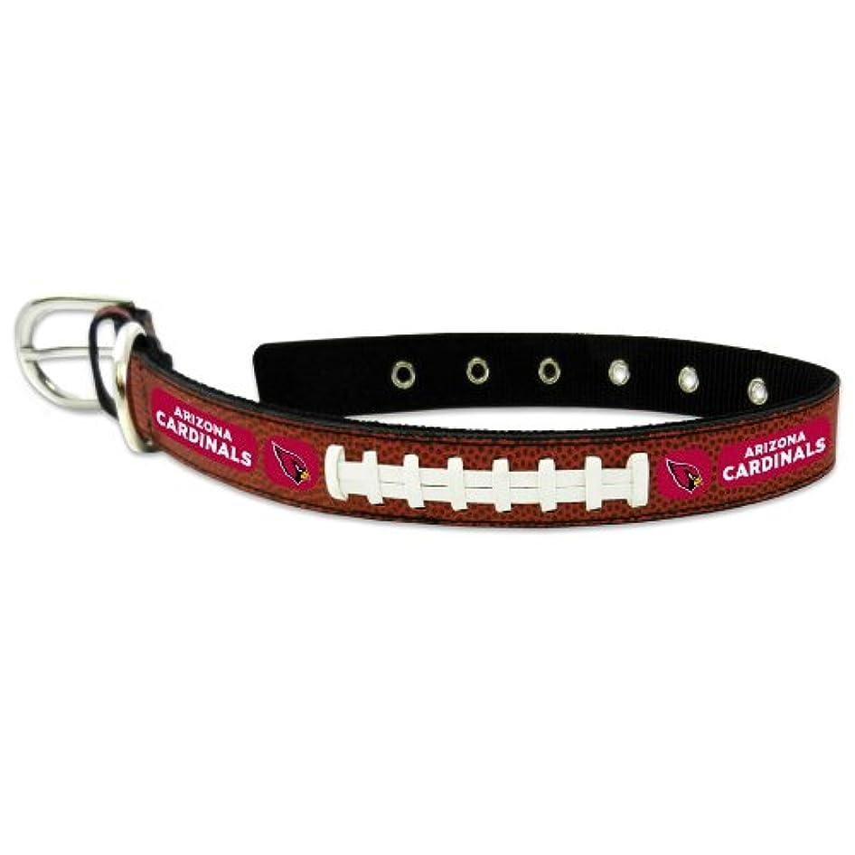 更新する憂鬱キャッチArizona Cardinals Classic Leather Medium Football Collar