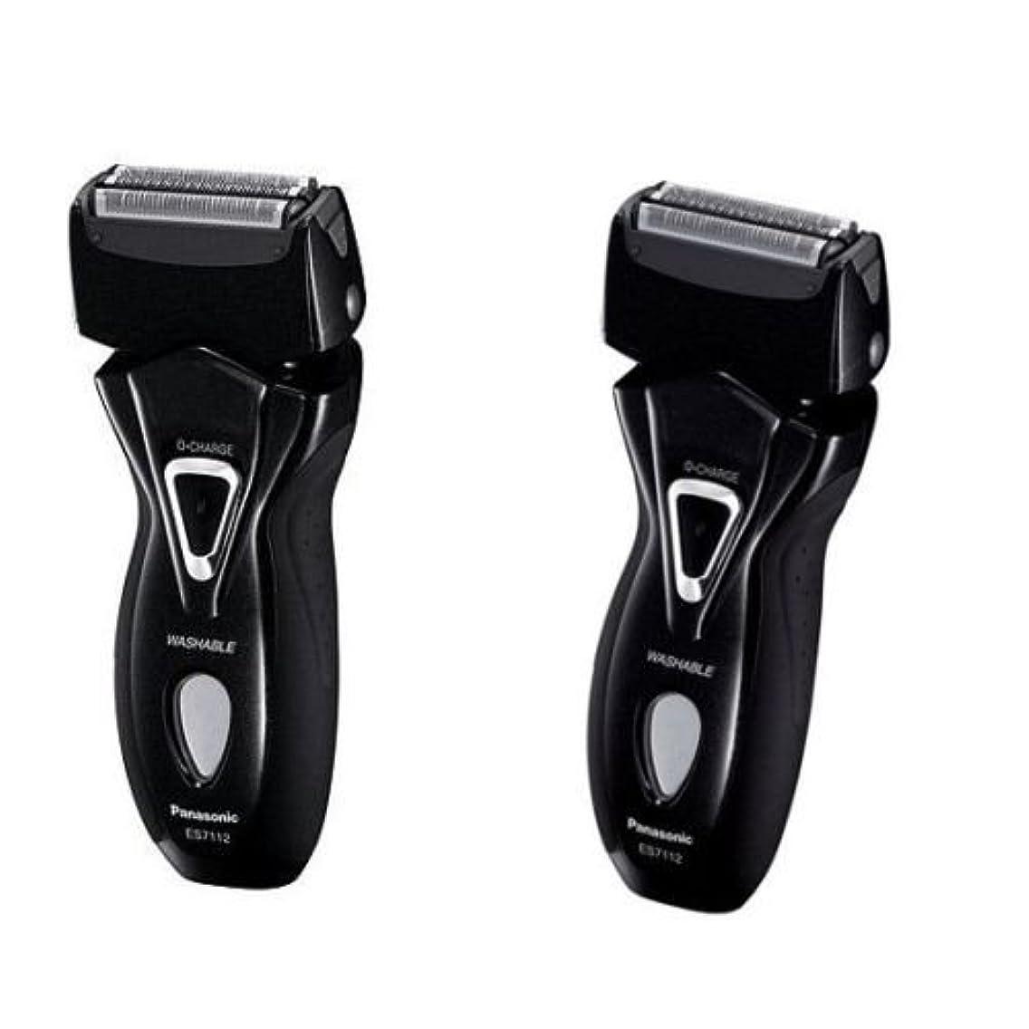スイス人租界毛布Panasonic ES-7112 メンズシェーバーRAMのダッシュ3剃る100-240V ES7112 /純正 [並行輸入品]