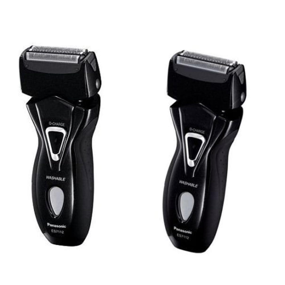 博覧会アクセル印をつけるPanasonic ES-7112 メンズシェーバーRAMのダッシュ3剃る100-240V ES7112 /純正 [並行輸入品]
