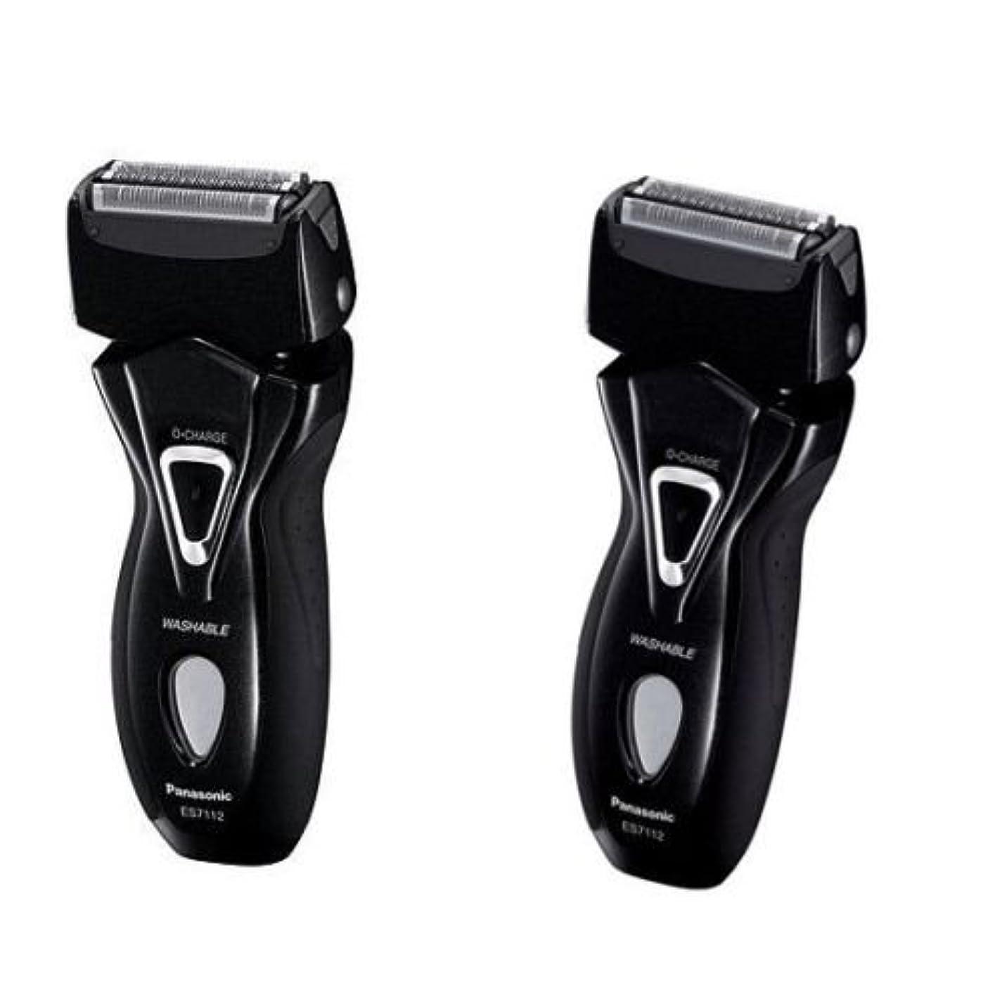 候補者ファイバ自由Panasonic ES-7112 メンズシェーバーRAMのダッシュ3剃る100-240V ES7112 /純正 [並行輸入品]