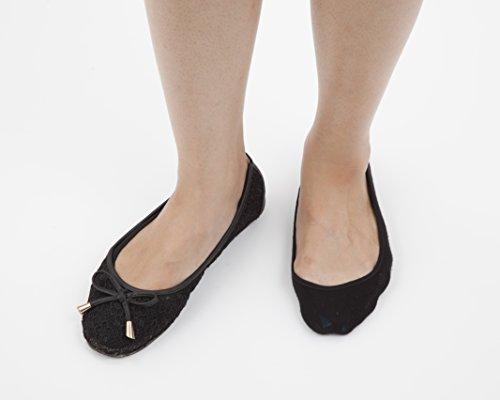 『桐灰化学 足の冷えない不思議なくつ下 足すっぽりインナーソックス 足冷え専用まるごとあったか 22-25cm浅履きタイプ 黒色 1足分(2個入)』の2枚目の画像