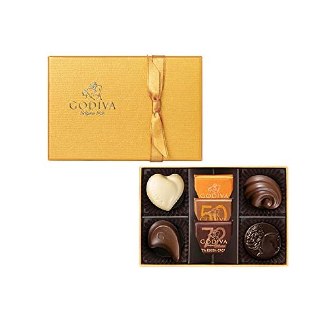 ナビゲーション名前でバーゴディバ (GODIVA) ゴールドコレクション 7粒