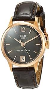 [ティソ] 腕時計 シュマン・デ・トゥレル オートマティック レザー T0992073644700 メンズ 正規輸入品 ブラウン
