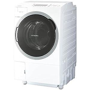 東芝 ドラム式洗濯乾燥機 ZABOON ヒートポンプタイプ 左開き 11kg グランホワイト TW-117V6L W