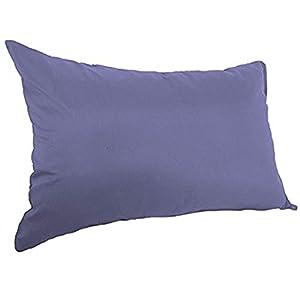 枕カバー 抗菌防臭加工 ブルー 43x63cm