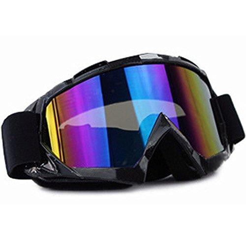 MyArmor サバゲーゴーグル 99%UVカット TPU素材 曇り防止 男女兼用 球面レンズ 防風/防雪/防塵 山登り/スキー/スノボ/スノー/バイク/サバゲーなど用ゴーグル 眼鏡拭き/収納袋3点セット
