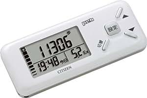 シチズン(CITIZEN) デジタル歩数計 peb ホワイト TW610-WH
