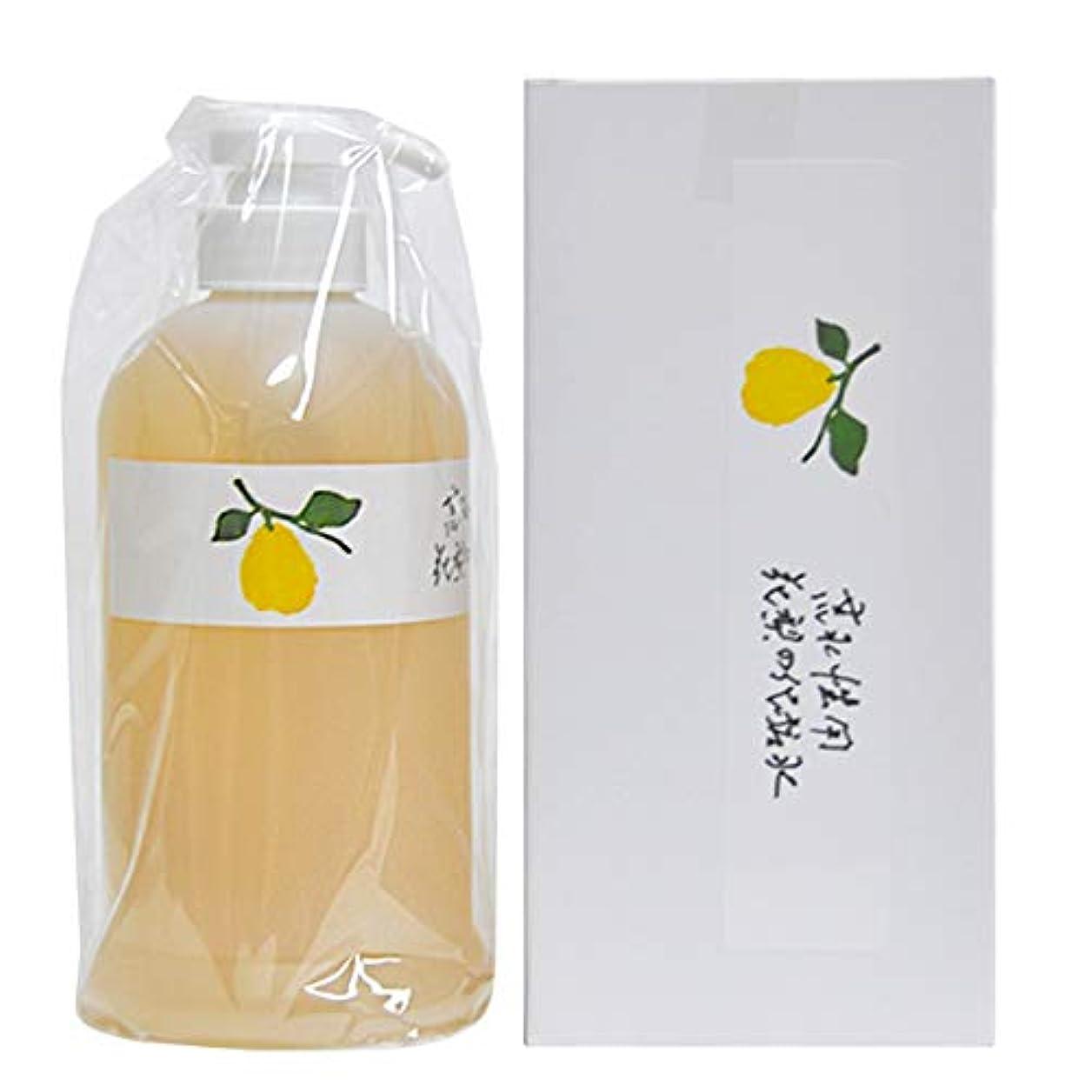 予約許容マンモス花梨の化粧水 お徳用ホームサイズ 630ml
