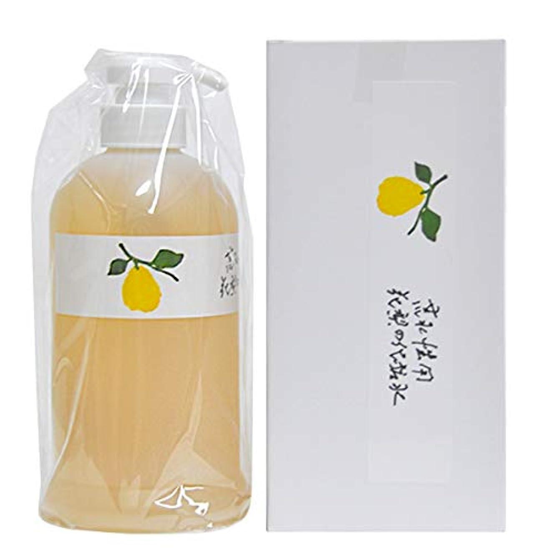 懲らしめモザイク静かに花梨の化粧水 お徳用ホームサイズ 630ml