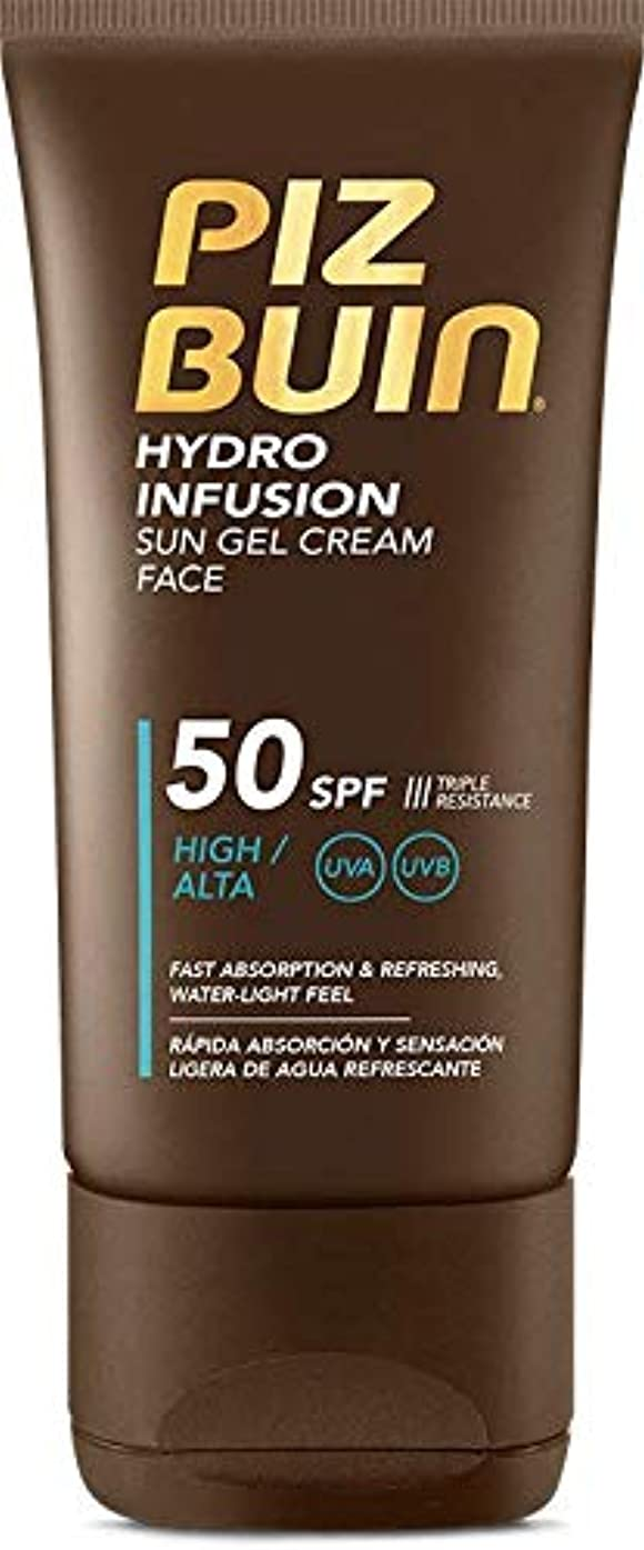 ジャム理想的には指令Piz Buin Hydro Infusion Sun Gel Cream SPF 50150ml