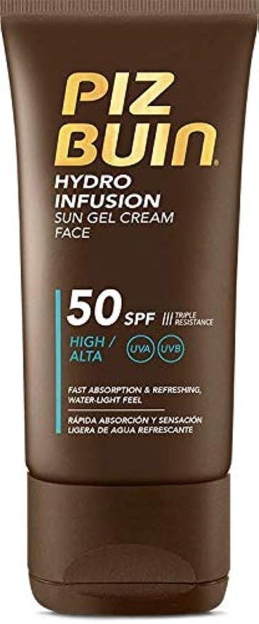 プラカード軍隊活発Piz Buin Hydro Infusion Sun Gel Cream SPF 50150ml