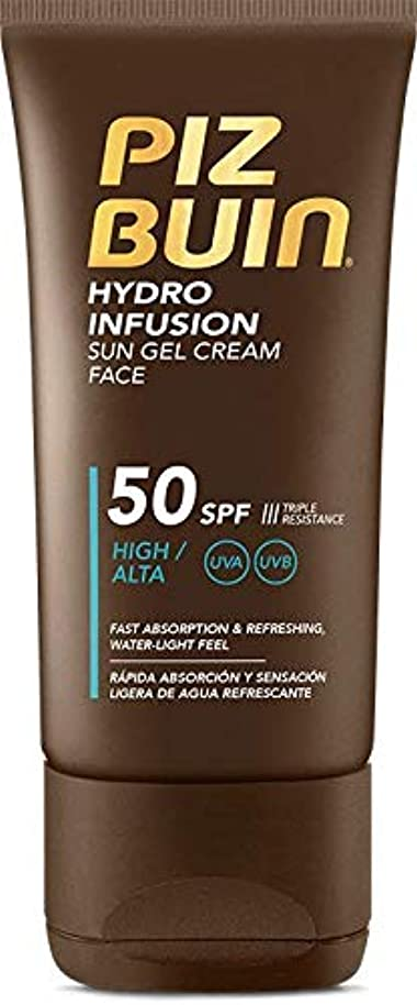 悪性遅い大型トラックPiz Buin Hydro Infusion Sun Gel Cream SPF 50150ml