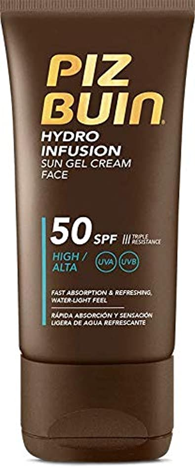 滑りやすい抜け目がない国際Piz Buin Hydro Infusion Sun Gel Cream SPF 50150ml