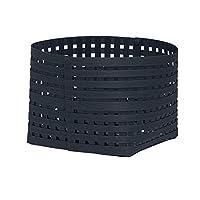 かご バスケット 収納 おしゃれ 天然素材 インテリア 日本製 Bandc Basket M3 ネイビー